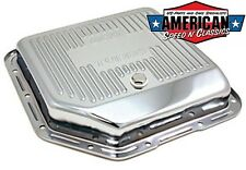 Ölwanne Chrom TH350 Getriebe Transmission Oil Pan Chevrolet GM Hot Rod