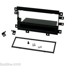 CT24SZ08 SUZUKI VITARA 2003 to 2005 BLACK SINGLE DIN FASCIA PANEL KIT