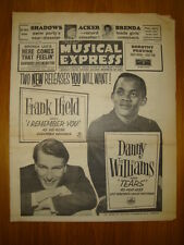 NME #807 1962 JUN 29 DANNY WILLIAMS IFIELD SHADOWS