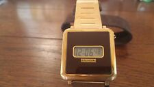1978 Fairchild LCD Tritium watch New in Box works great