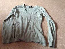 ladies v neck cashmere jumper
