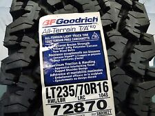 LT235/70R16 BF Goodrich All-Terrain T/A KO 104S OLD PATTERN All season Winter