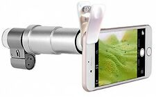 Apexel 200X Optical Zoom Mobile Phone LED Microscope Magnifier Lens with Univ *