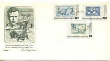 FIRST DAY COVER 50TH ANNIVERSARY OF THE FIRST SOLO TRASANTLANTIC FLIGHT 1927