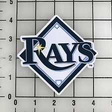 "Tampa Bay Rays MLB 4"" Wide VInyl Decal Sticker - BOGO"