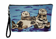Sea Otter Writlet with detachable strap - From my orginal Painting, Best Friends