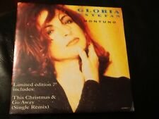 RARE . GLORIA ESTEFAN . MONTUNO / THIS CHRISTMAS . 1993, LIMITED EDITION . MINT