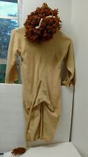 Cowardly Lion Halloween Costume Toddler Wizard Of Oz Handmade Vintage