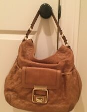 Authentic ANYA HINDMARCH LEATHER HANDBAG  Hobo Shoulder Bag