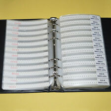 0603 SMD 170 values Resistor and 55 values Capacitor assorted kit sample book