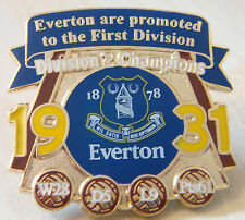 Everton victoria los pines 1931 2nd División Campeones Badge Maker Danbury Mint