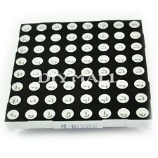 Dot Matrix LED Display Module 5mm 8x8 Red Common Anode 60x60mm 16pin