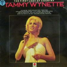 Tammy Wynette(Vinyl LP)The First Lady Of The Country-Spot-SPR 8509-UK-1-VG+/Ex