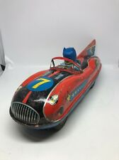 Vintage 1960s Rare Modern Toys batmobile Batman Japan Friction Powered Car 7