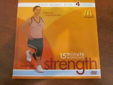 McDONALDS 15 MINUTE WORKOUTS STRENGTH DVD ENGLISH OR SPANISH