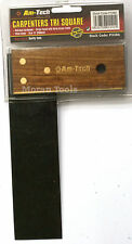 "6"" 150mm Carpenters Tri Try Joiners Set Square Joinery Rosewood  P3386"