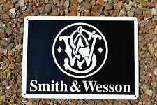 SMITH AND WESSON FIRE ARMS GUN SIGN 44 MAGNUM