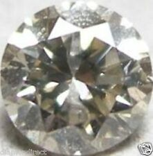 0.188 CTS NATURAL LOOSE  ROUND DIAMOND  M I2 3.40MM