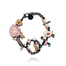 Bracelet le corbeau et le renard ♥ biche ♥ marron ♥ lol bijoux 2017 ♥ Paris