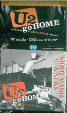 U2 THE ITALIAN COLLECTION DVD V.18 U2 GO HOME (DIGIPACK) SORRISI TV