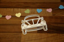 Large VW Beetle Cookie Cutter
