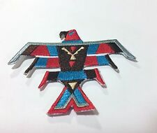 "Embroidery Patch Thunderbird, Native  American Style Crafts 3"" 1/4 by 3"""