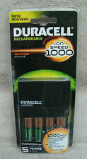 Duracell ion Speed 1000 NiMH AA/AAA Battery Charger ~ NEW