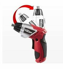 Hyper Tough 4V Lithium-Ion Cordless Screwdriver Electric Portable Screw Driver