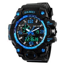 Skmei Men's Quartz Analog Digital Army Watch 50M Waterproof Military Wristwatch