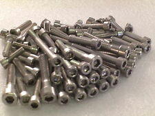 Honda VT125 Shadow, XL125 Varadero Engine Covers 66pc Stainless Allen Bolts Kit