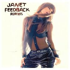 "Janet Jackson Feedback Vinyl 2x12"" Single Sealed! Remixes Ralphi Rosario & More"