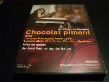 """DVD """"CHOCOLAT PIMENT"""" Jacques MARCHAND, Anne LOIRET / theatre"""