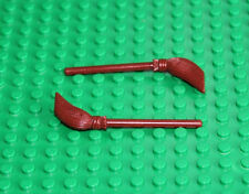 Lego Harry Potter Reddish Brown Broom 2 pieces NEW!!!