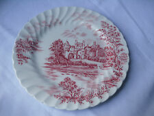 Johnson Brothers Red Castle Story Salad/Dessert Plate