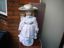 ALBERON COLLECTORS PORCELAIN DOLL (A) BOXED (V.G.C)