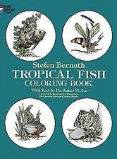 Tropical Fish (Colouring Books),Stefen Bernath,New Book mon0000067114