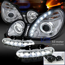 98-05 Lexus GS300 GS400 Halo SMD Projector Headlights+LED DRL Bumper Fog Lamps