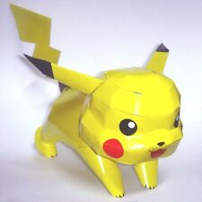 DIY Pokemon Pikachu Origami 3D Anime Japan Model Paper