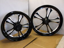 "Pair of Arlen Ness ""G3"" Custom Wheels for 2011-2012 Victory Motorcycle-$4794 NEW"