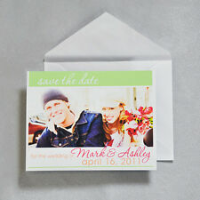 Save the Date Magnet Kit DIY White Printable Invitation Kit 30 Ct Gartner Studio