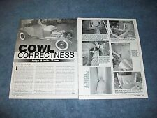 How-to Tech Info Article on Mating a '29 Ford Cowl to a '32 Frame