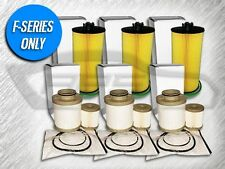 3 OIL FILTERS & 3 FUEL FILTER SETS FOR FORD 6.0L TURBO DIESEL - VALUE PACKAGE