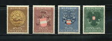 Austria   1949  #B264-7  Arms of Austria,  Prisoners of War    4v. MNH  F920