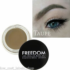 Freedom Makeup Eyebrow Definition Gel HD Brows - Pro Brow Pomade Taupe