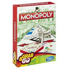 Hasbro Monopoly grab and go taille voyage famille classique jeu de société FREE P&P