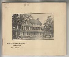 1914 BOOKLET - THE HADDON FORTNIGHTLY YEAR BOOK - HADDONFIELD NEW JERSEY