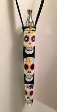 E-cigarette Lanyard Vaporizer ego holder Key Chain ecig case Sugar Skulls Skull