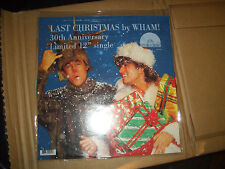 "WHAM LAST CHRISTMAS 30TH ANNIVERSARY LIMITED 12"" LP VINYL RECORD NEW RSD 2014"