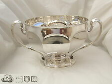 RARE EDWARDIAN HM STERLING SILVER PUNCH BOWL 1906 52 oz