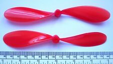 "Propeller for electric or rubber power - 150mm (6"") dia. - red nylon 2 blade"